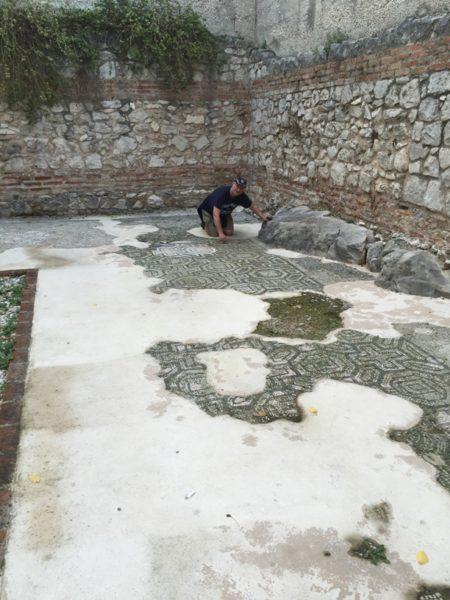 Croatia 16 Split palace mosaic (IMG_0033)