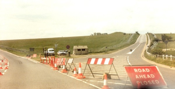 Stonehenge 85 at the A303 fork