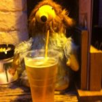 Womble drinking (IMG_00681) A